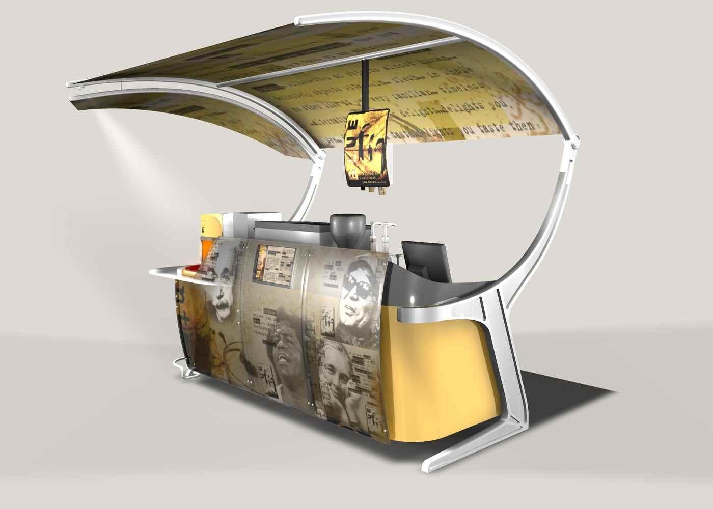 Outdoor Coffee Cart-0