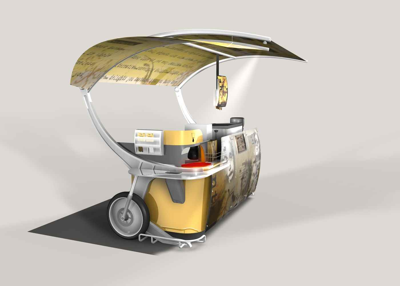 Outdoor Coffee Cart-2