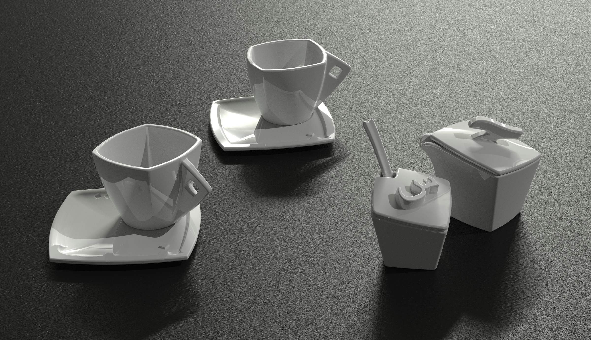 Calligraphy Tableware-2