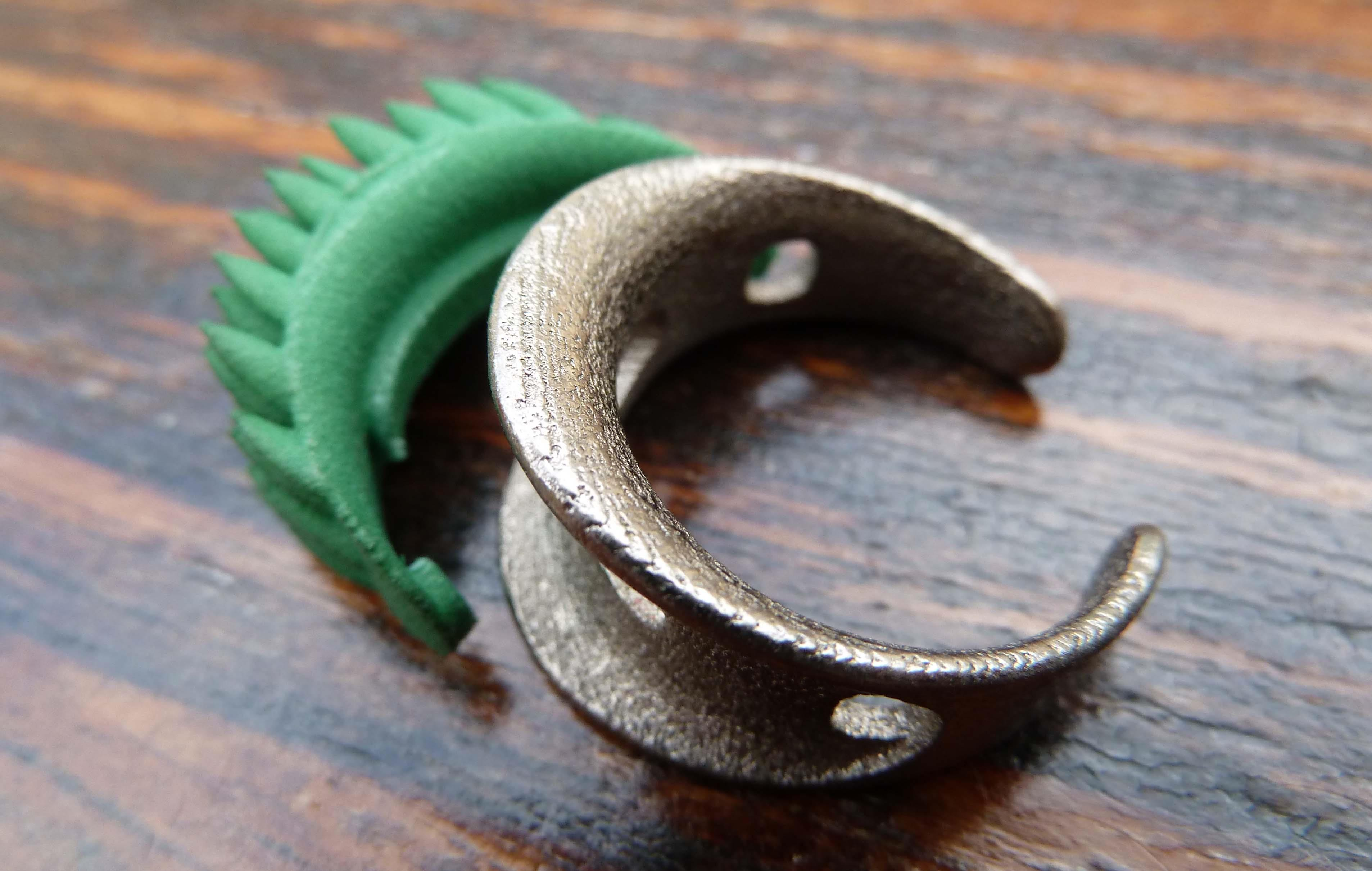 Selling An Enement Ring | Grass Element Clips Onto Swap Ring Tallal Product Development